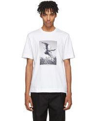 Jil Sander - Ssense Exclusive White Mario Sorrenti Edition 007 T-shirt - Lyst
