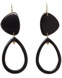 Isabel Marant - Black Spirit Earrings - Lyst