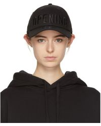 Opening Ceremony - Black New Era Edition Satin Stitch Logo Cap - Lyst