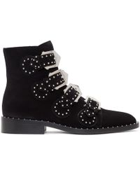 Givenchy - Black Suede Elegant Boots - Lyst