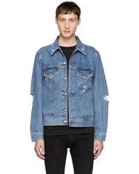 DIESEL - Blue Robyn Denim Jacket - Lyst