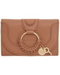 See By Chloé - Pink Small Hana Wallet - Lyst