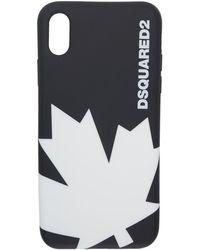 DSquared² - Etui pour iPhone X noir Leaf - Lyst