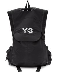 Y-3 - Black Running Backpack - Lyst
