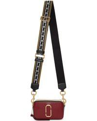 Marc Jacobs   Burgundy Small Snapshot Bag   Lyst