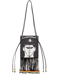 JW Anderson - Gilbert And George コレクション ブラック The Policeman ネック ポーチ - Lyst