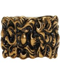 Gucci - Gold Lion Mane Ring - Lyst