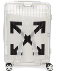 Off-White c/o Virgil Abloh - Valise de cabine blanche See Through edition RIMOWA - Lyst