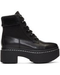 Opening Ceremony - Black Syd Hiker Boots - Lyst