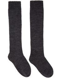 Isabel Marant - Grey Adelia Socks - Lyst