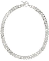 Pearls Before Swine - Silver Large Sliced Link Necklace - Lyst