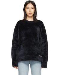 Alexander Wang ブラック Chynatown スウェットシャツ