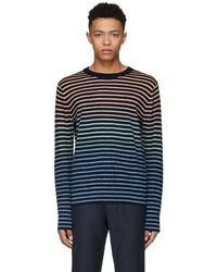 PS by Paul Smith - Miulticolor Striped Knit Jumper - Lyst