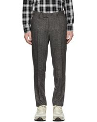 Tiger Of Sweden - Grey Tordon Trousers - Lyst