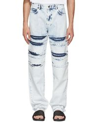 Y. Project - White Layered Jeans - Lyst