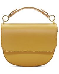 Sophie Hulme - Yellow Medium Bow Bag - Lyst