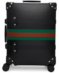 Gucci - Black Globe-trotter Edition Web Carry-on Suitcase - Lyst