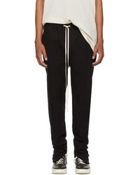 Fear Of God - Black Heavy Terry Sweatpants - Lyst