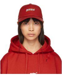 ADER error - Red Arrow Mesh Cap - Lyst