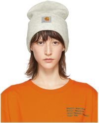 Carhartt WIP - Grey Watch Beanie - Lyst