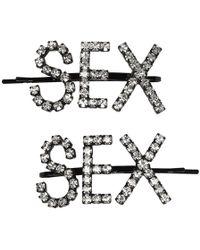 Ashley Williams - Black Sex Hair Pins - Lyst