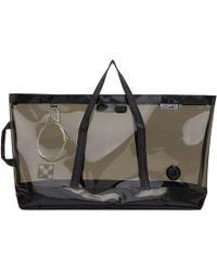 Off-White c/o Virgil Abloh - Black Medium Travel Bag - Lyst