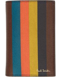 Paul Smith - Multicolor Bifold Card Holder - Lyst