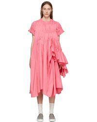 Chika Kisada - Pink Ruffle Dress - Lyst