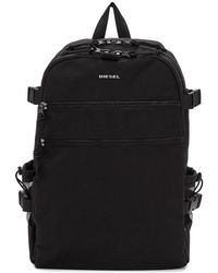 DIESEL - Black F-urbhanity Backpack - Lyst