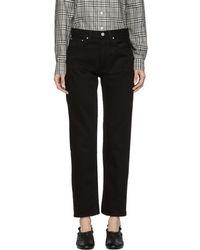 Totême  - Black Original Jeans - Lyst