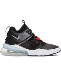 Nike - Black Air Force 270 Sneakers - Lyst