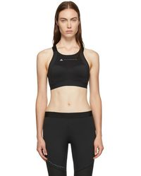 adidas By Stella McCartney - Black Compression Bra - Lyst