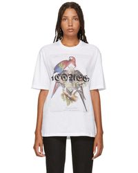 Alexander McQueen - White Jungle Collage T-shirt - Lyst