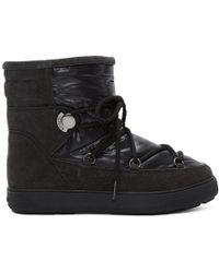 Moncler - Black Fanny Boots - Lyst