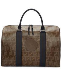 Fendi - Brown Forever Travel Duffle Bag - Lyst