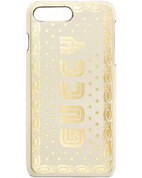 Gucci - White Sega Guccy Iphone 8 Plus Case - Lyst