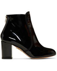 Charlotte Olympia - Black Patent Alba Boots - Lyst