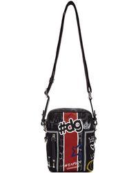 Dolce & Gabbana - Black Graffiti Camera Bag - Lyst