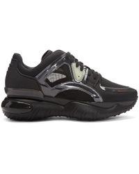 Fendi Black Speed Runner Sneakers in Black for Men - Lyst 337beeeb4b