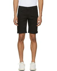 Levi's - Black 511 Cut-off Shorts - Lyst