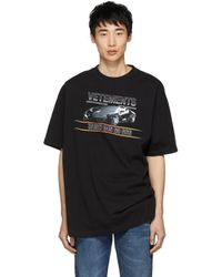 Vetements - Oversized Printed Cotton-jersey T-shirt - Lyst