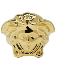 Versace - Gold Large Medusa Ring - Lyst