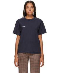 Vetements - Navy Hug Me Inside Out T-shirt - Lyst