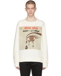 Gucci - Off-white Elton John Sweatshirt - Lyst