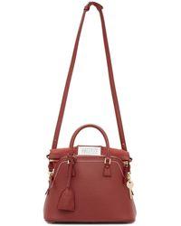Maison Margiela - Red Medium 5ac Bag - Lyst