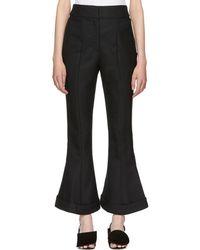 Jacquemus - Black 'le Pantalon Nino' Trousers - Lyst