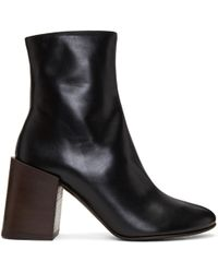 Acne | Black Saul Boots | Lyst