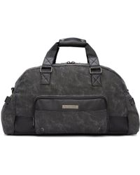 DIESEL - Black Gear Duffle Bag - Lyst