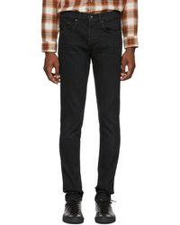 Rag & Bone - Black Devon Jeans - Lyst
