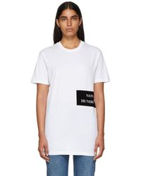 Won Hundred - White Troy Organic T-shirt - Lyst
